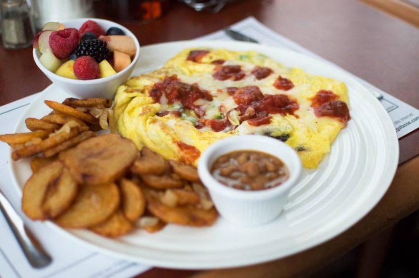 Nos généreuses omelettes 3 œufs